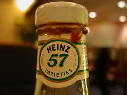 57 varieties