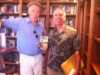 Alan Whelan with Tim Butcher
