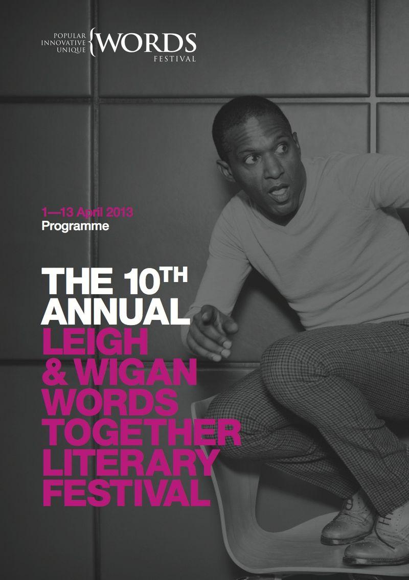 Wigan Words festival brochure